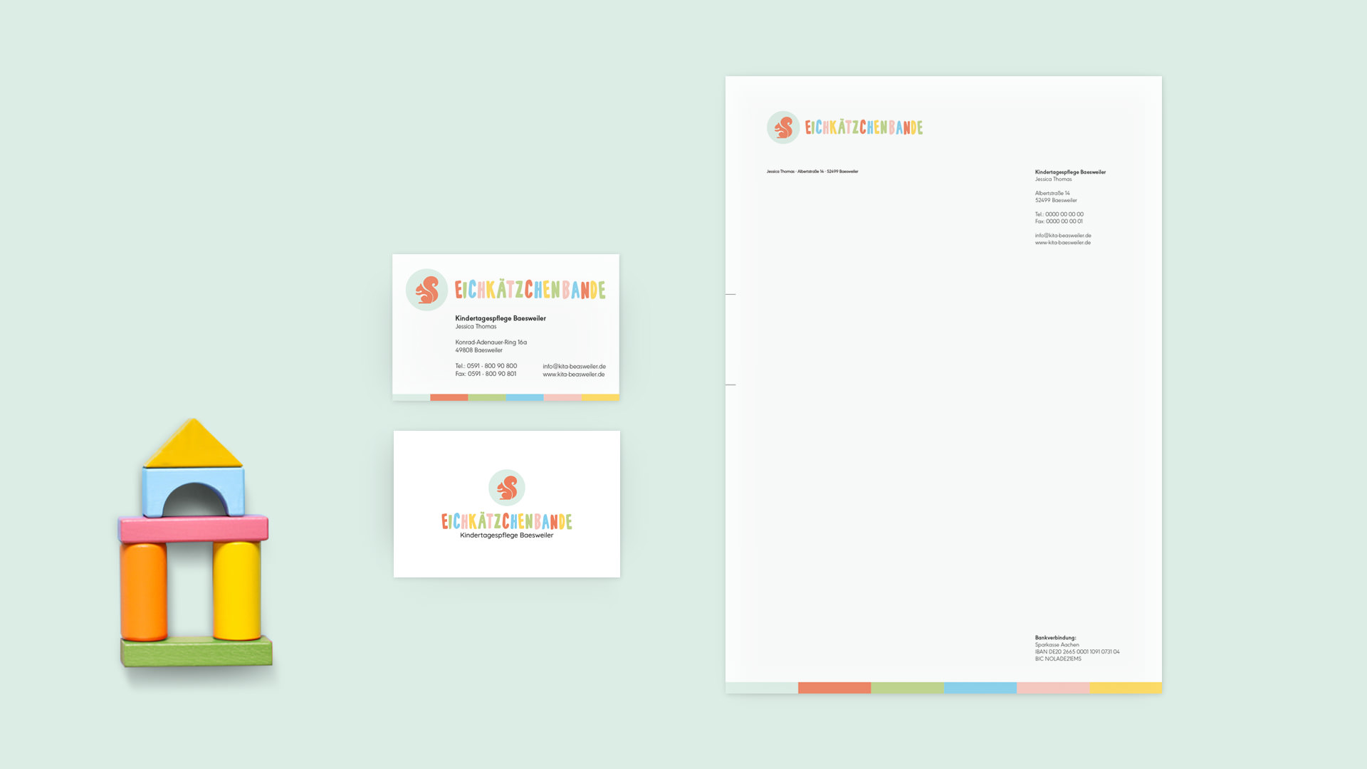 Corporate Design Eichkätzchenbande