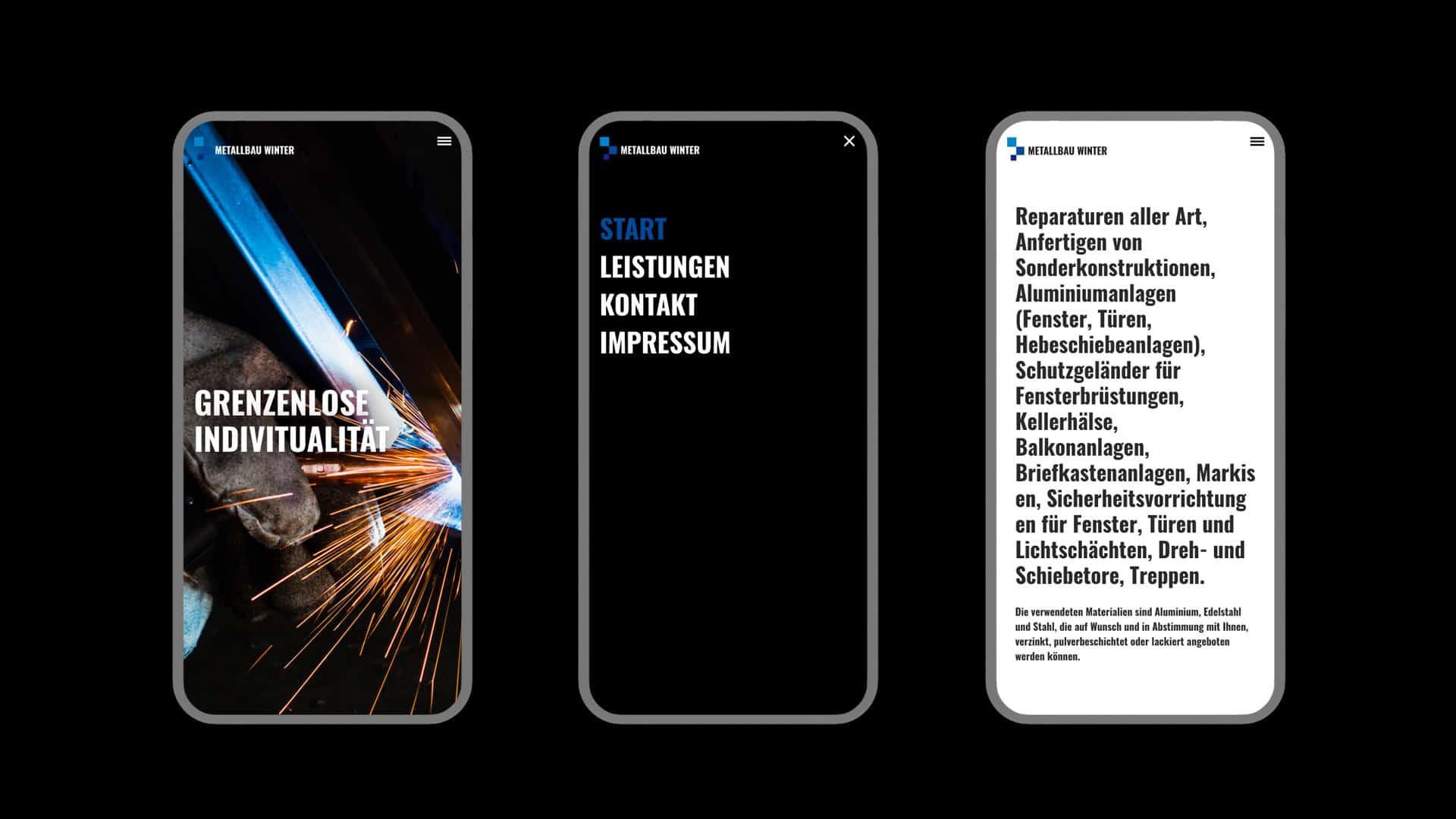 Mobile Webdesign für Dirk Winter aus Münster