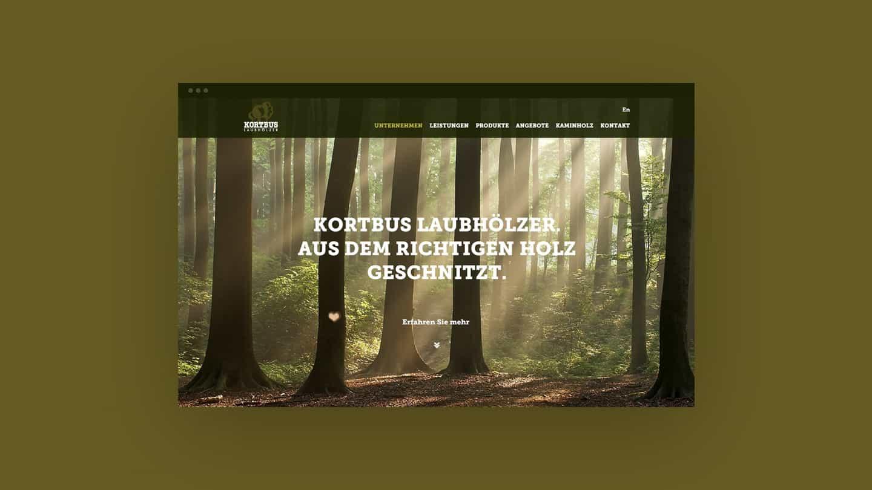 Webdesign für holzverarbeitendes Unternehmen aus Warendorf