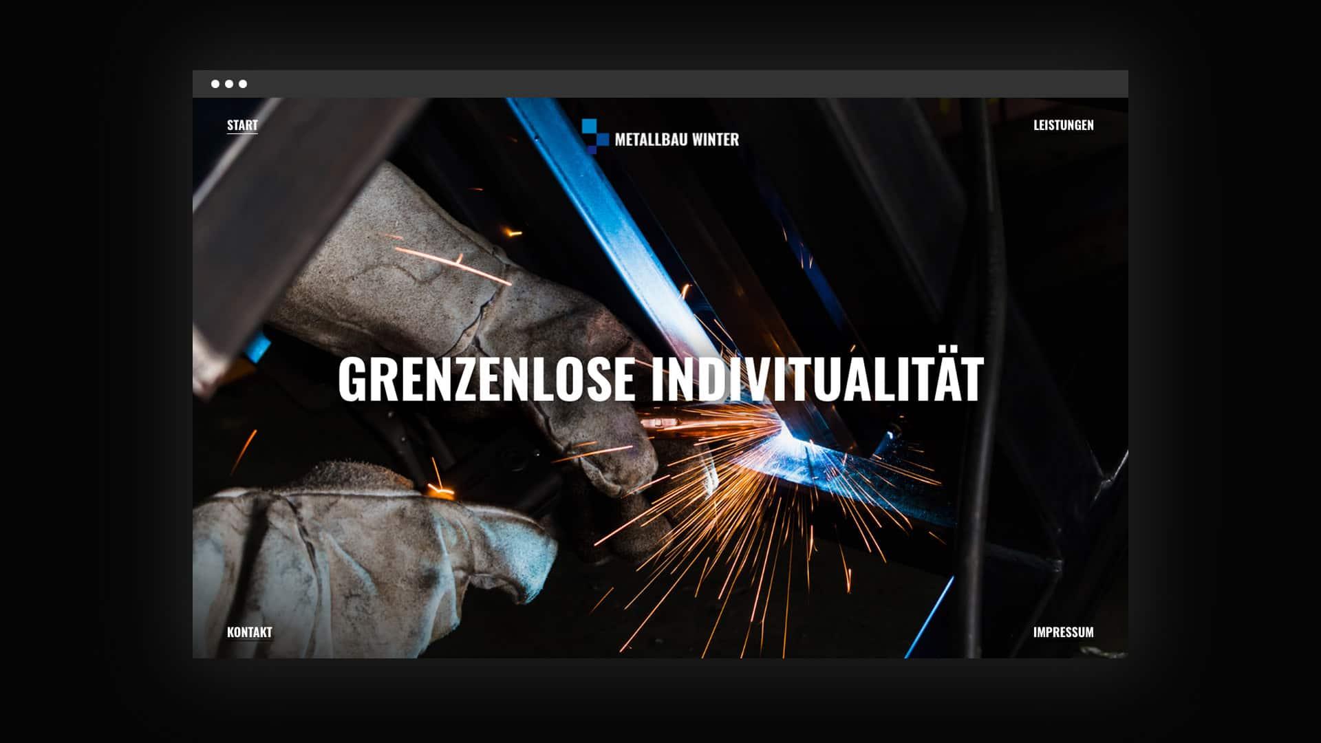 Webdesign für Dirk Winter aus Münster