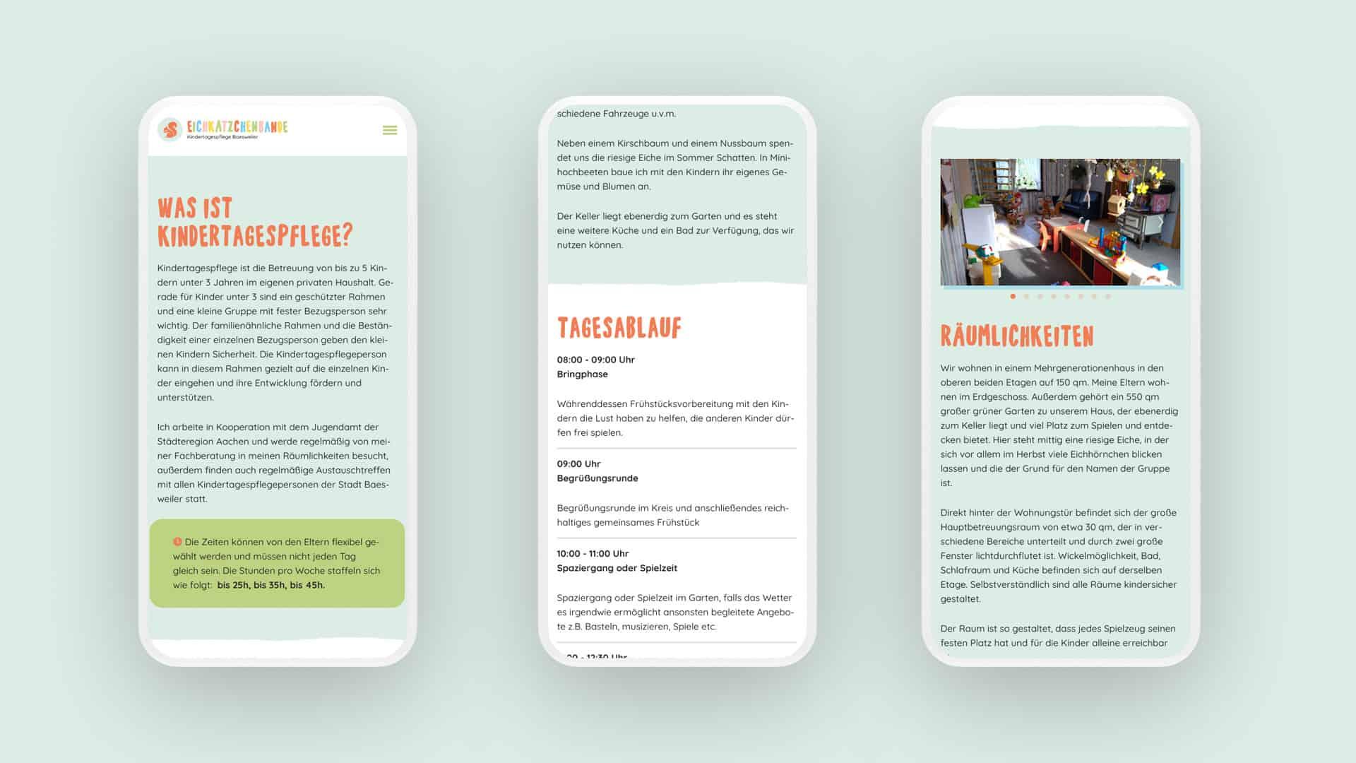 Webdesign aus Münster für eine KITA aus Aachen